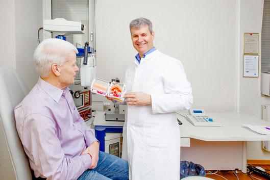 Die Augenarzt Praxis mitten in der Düsseldorfer Innenstadt ist gut für jeden erreichbar.